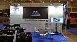 Интерактивные экраны для выставочного стенда компании Hyundai Motors Украина